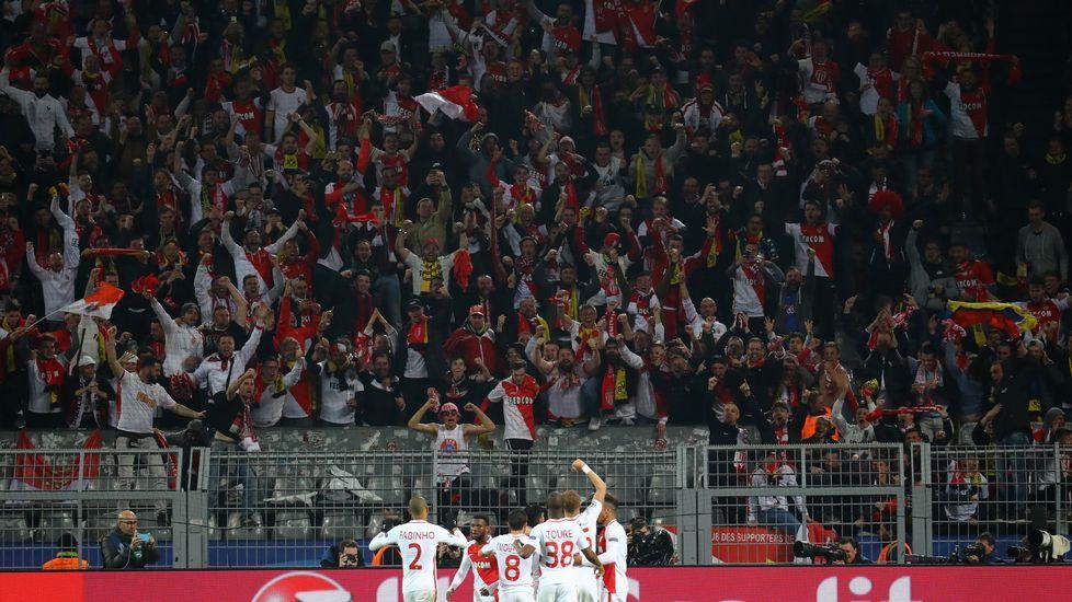 Falcao, durante un partido con el AS Monaco