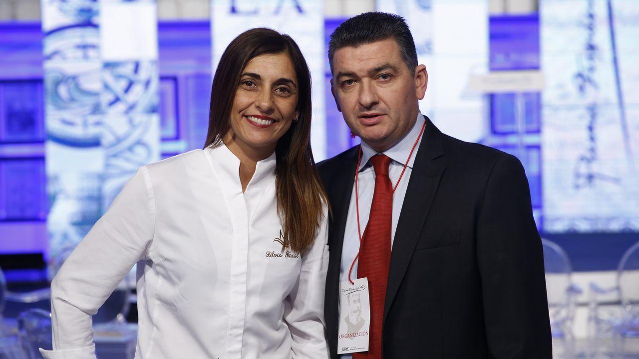 El cóctel corrió a cargo de Silvia Facal y Rafael Varela, de A Mundiña