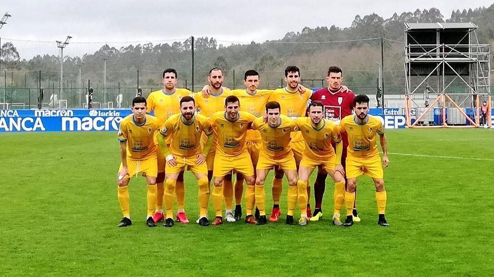 De arriba a abajo y de izquierda a derecha: Gabri Palmás (Compostela), Martín Lamelas (Ourense CF), Suso Martínez (Arousa) e Ivi Vales (Barco)