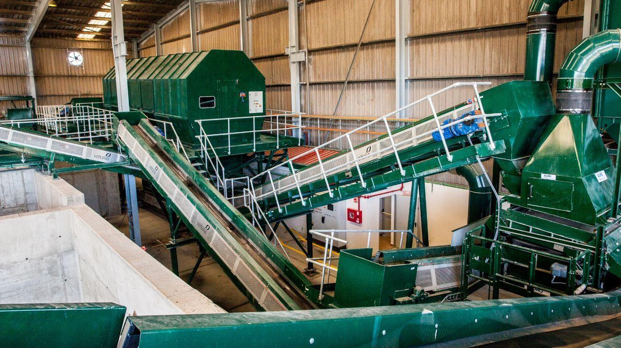 Planta de compostaje que ya funciona en Cerceda