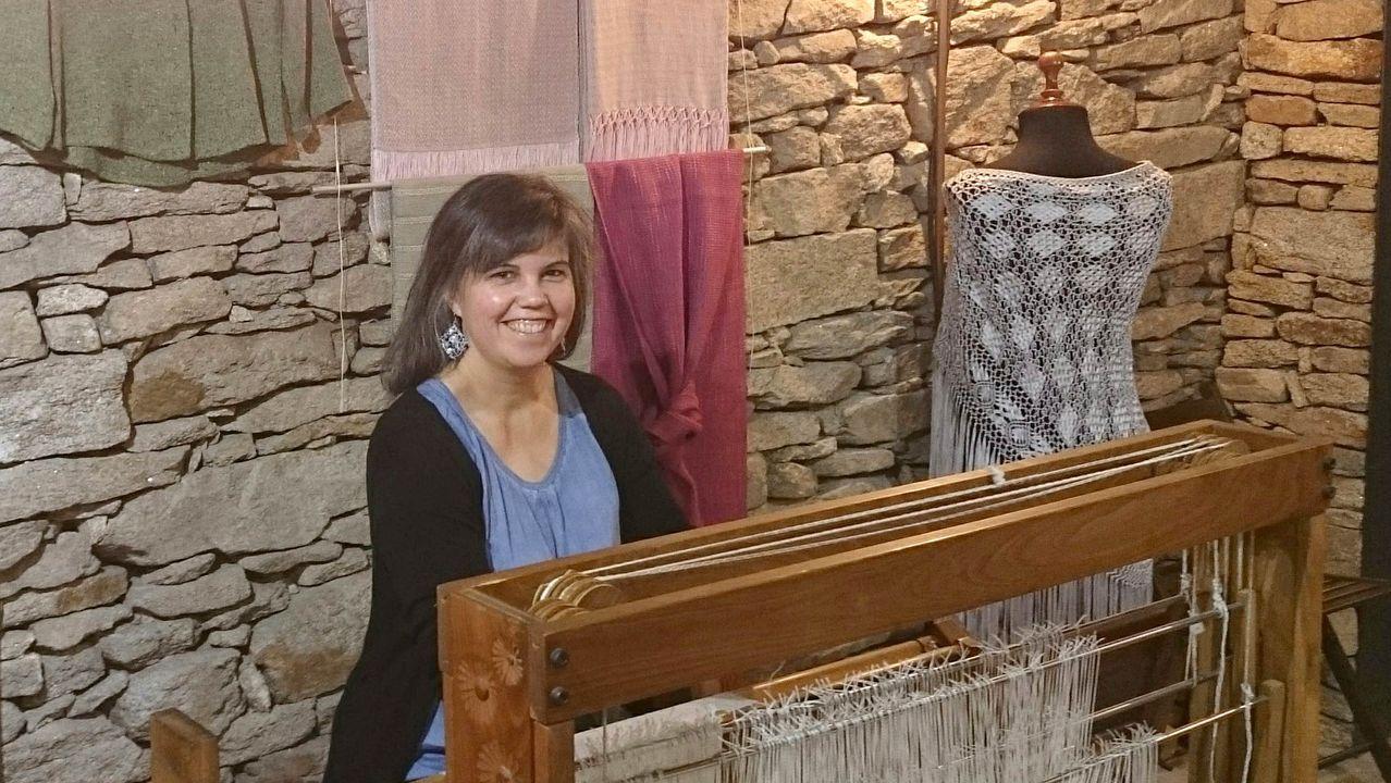Jennifer Otero viajó la pasada Navidad a España para pasar unos días con su familia y sus amigos en Burela