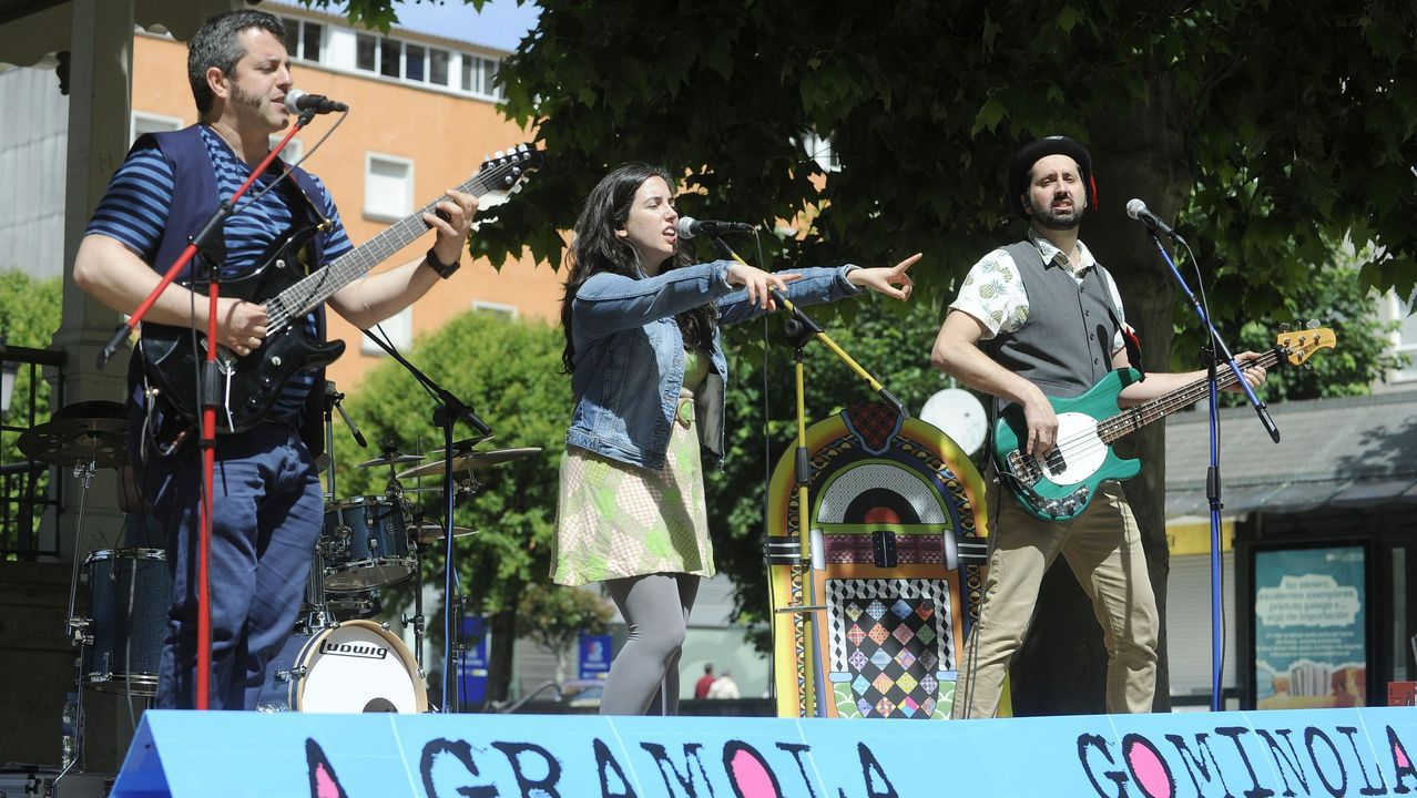 A Gramola Gominola actuará a las 17.00 y a las 18.30 horas