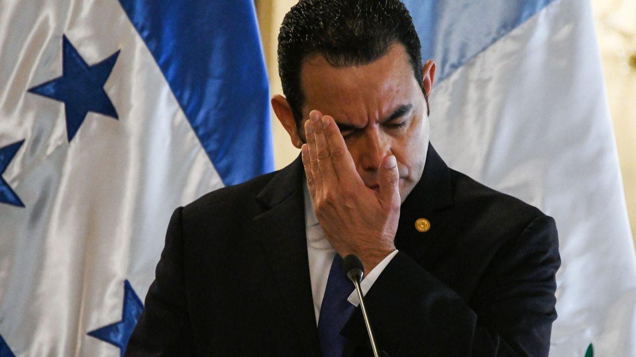 Imagen de archivo del presidente de Guatemala