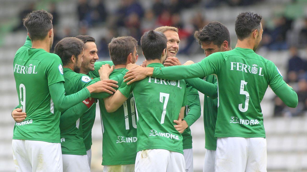 Las imágenes del Racing de Ferrol, campeón de Tercera