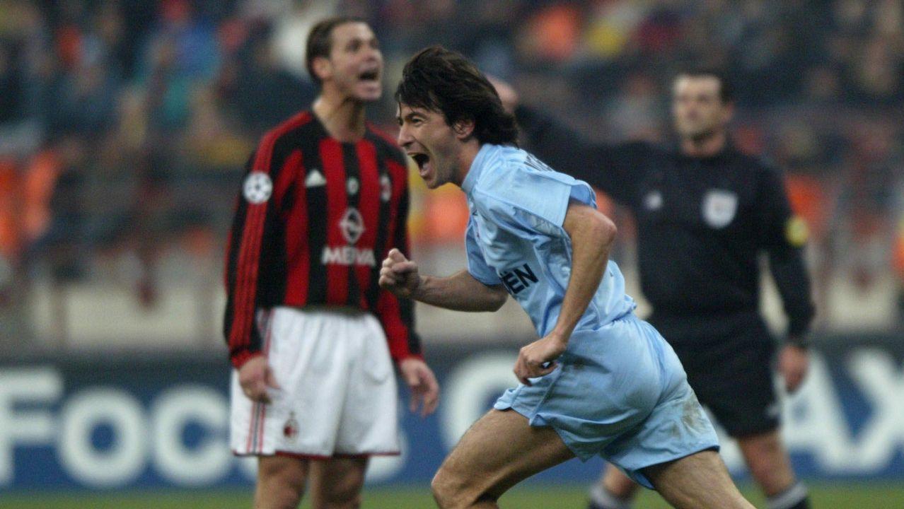 Duelo de Champions frente al Milan en el 2003
