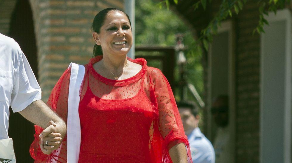 Isabel Pantoja sale de la cárcel para un permiso de cuatro días