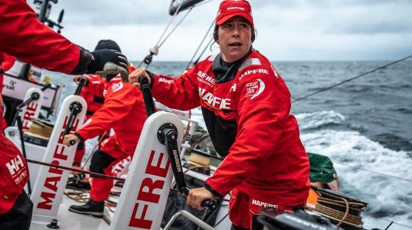Chuny Bermúdez de Castro: «Es hora de crear un proyecto en Galicia».MAPFRE / Volvo Ocean Race