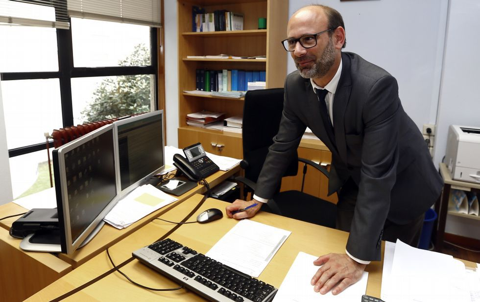 El portavoz del Gobierno asturiano, Guillermo Martínez