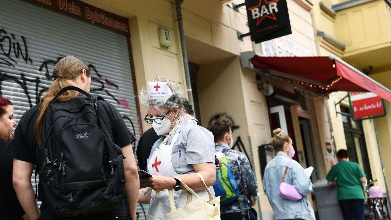 Cientos de personas se manifestaron en Madrid para pedir el fin de la dictadura en Cuba