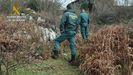 La Guardia Civil investiga los incendios forestales en Asturias. ARCHIVO