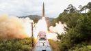 Pruebas de misiles lanzados desde un tren por Corea del Norte