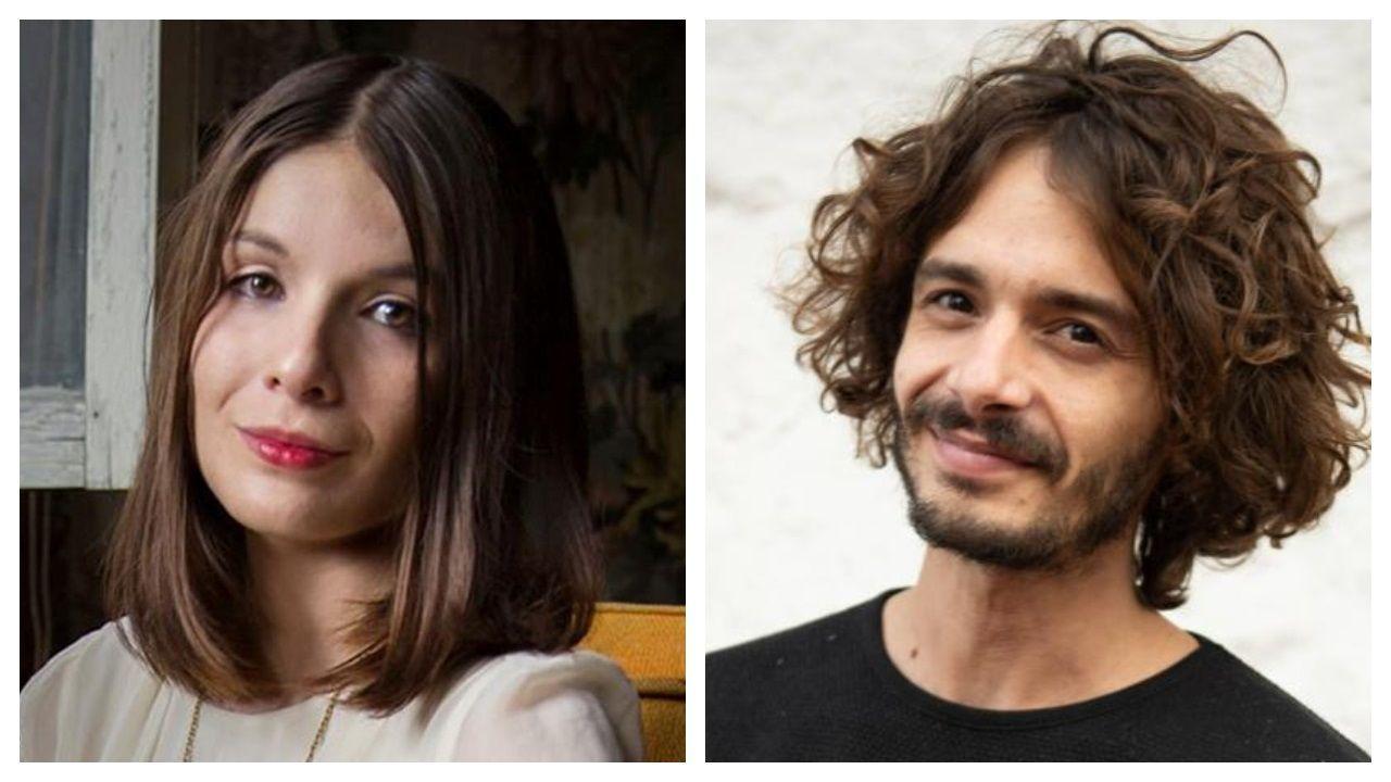 Derrumbe en el metro de Ciudad de México.Los escritores Aniela Rodríguez (Chihuahua, 1992) y Mateo García Elizondo (Ciudad de México, 1987)