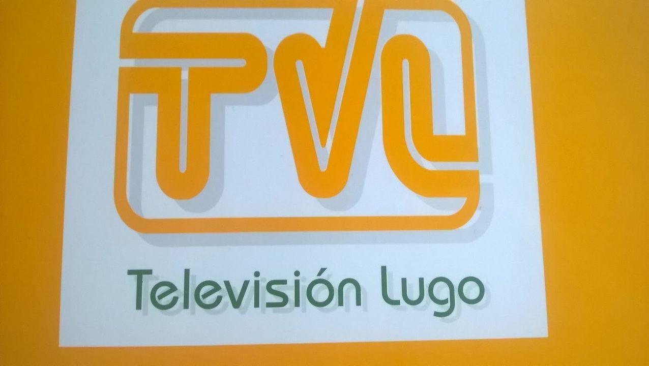 Postales ganadoras del concurso de Palas de Rei.Logo de Televisión Lugo, un dos proxectos onde traballou María José Vázquez