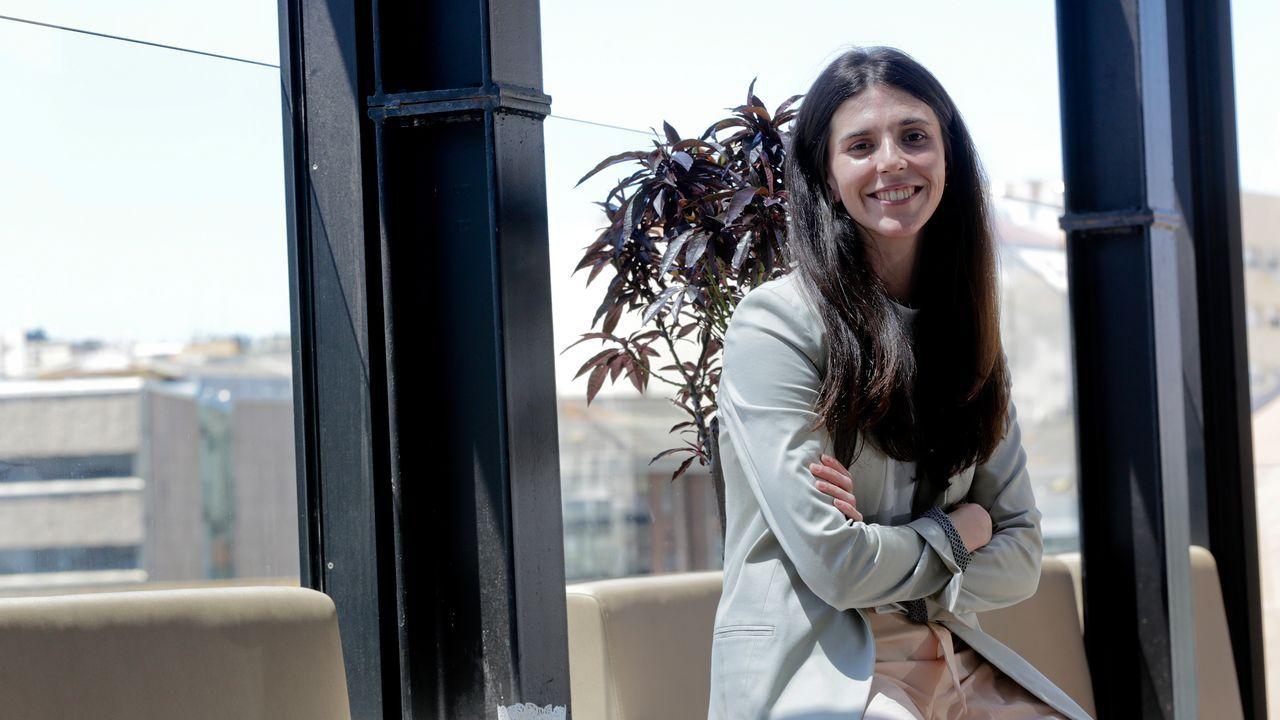 Nuria Blanco, directora de los hoteles Avenida y Plaza de A Coruña