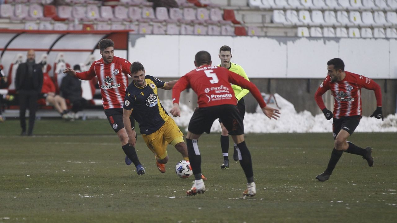 Imagen del Zamora-Deportivo de la primera vuelta