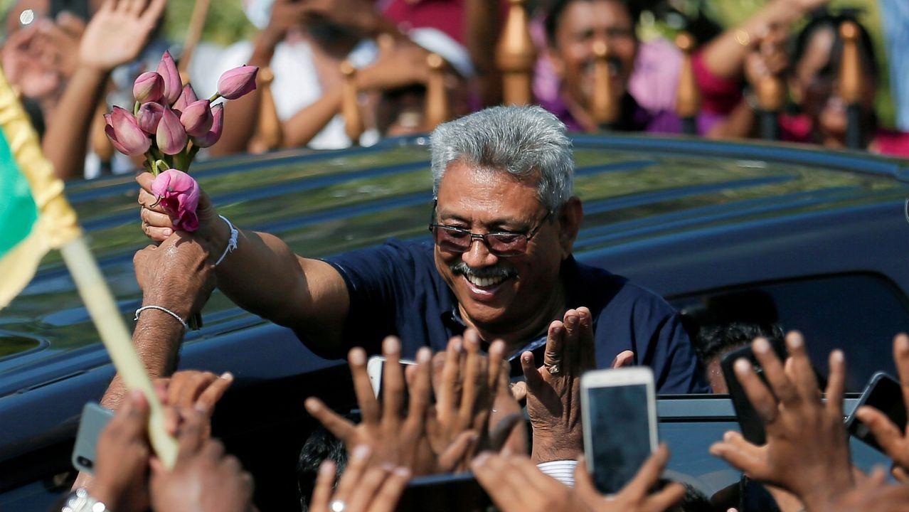 La Gala do Deporte Universitario reconoce a numerosos deportistas ourensanos.Sri Lanka acude a las urnas esta sábado en unas elecciones presidenciales con un récord histórico de 35 candidatos, entre los que destaca la figura del que muchos ven como su salvador: Gotabaya Rajapaksa