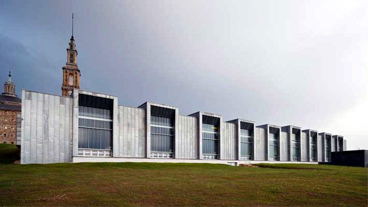 Instalaciones de Thyssen Krupp en La Laboral, Gijón