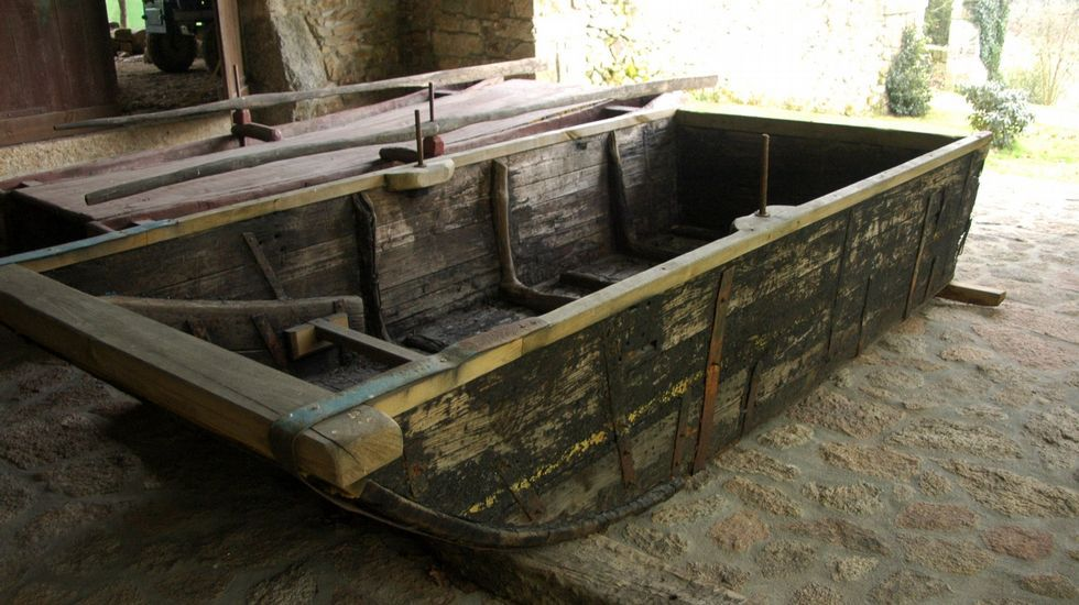 Embarcaciones tradicionales del Miño conservadas en el museo