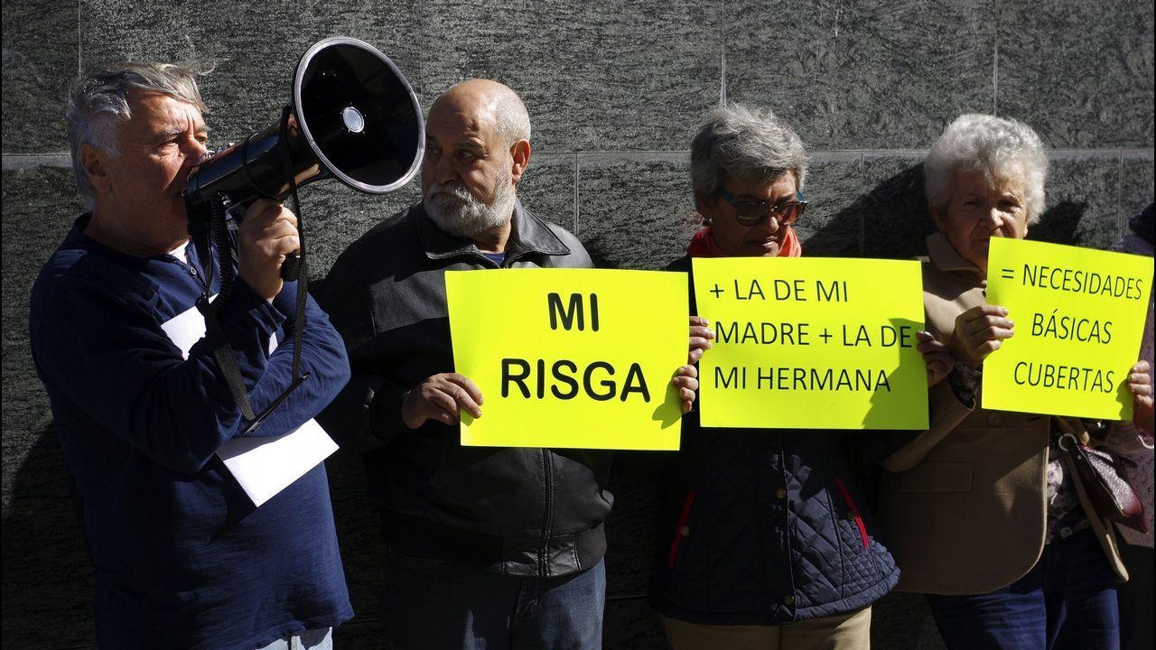 Imagen de archivo de una protesta en Vigo
