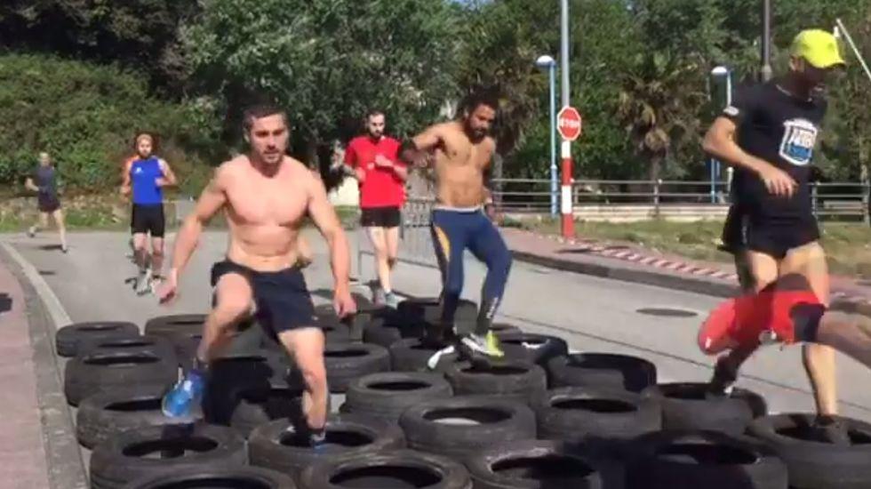 Sin sufrimiento no hay gloria en la «Heroican Race» de Ribadeo