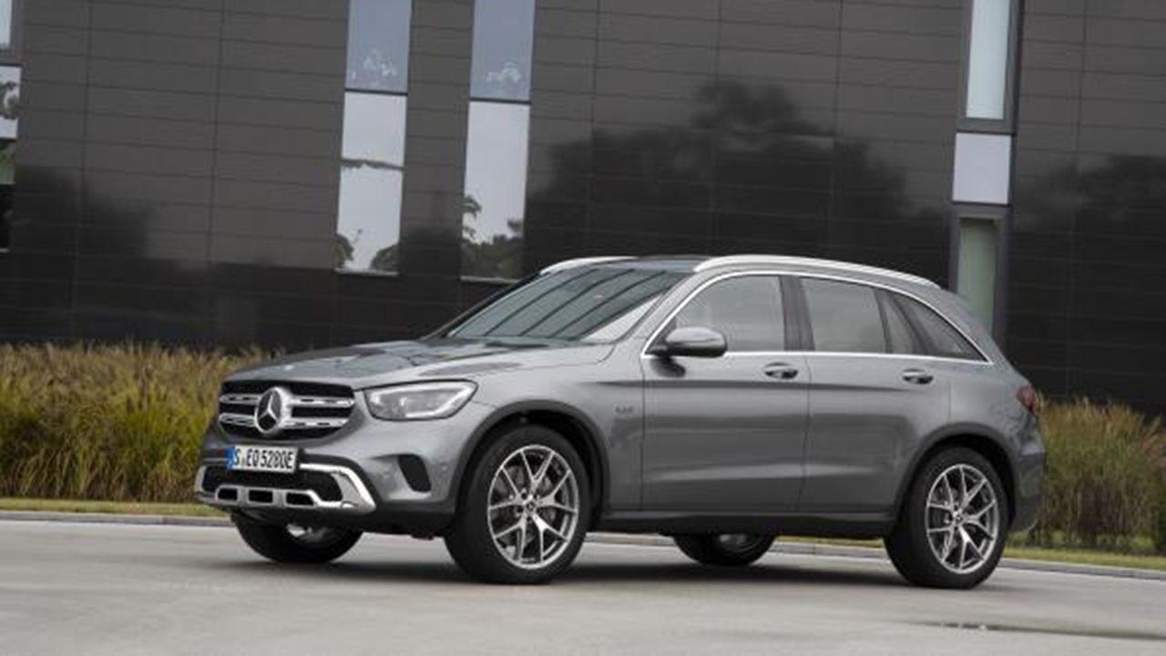 Nuevos Mercedes GLC 300 4Matric con la tecnología híbrida enchufable EQ Power