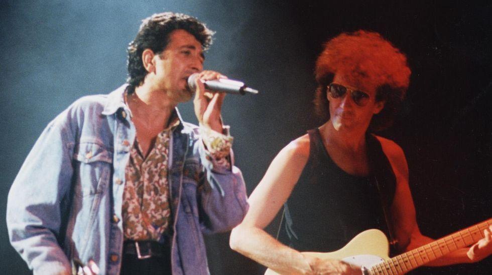 García y Portet, de El último de fila, en 1993
