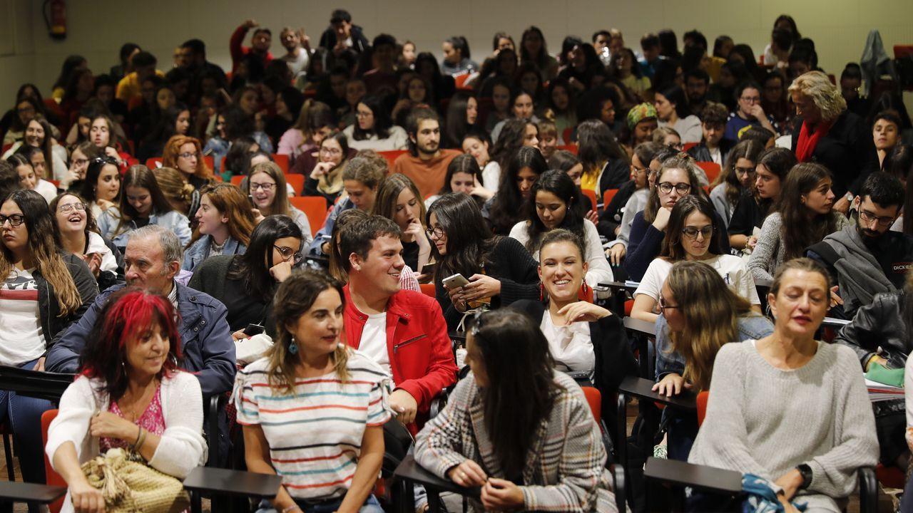 El 25N en Santiago: no rotundo contra la violencia machista.En la imagen, Susana López Abella, que participará en la inauguración de la jornada