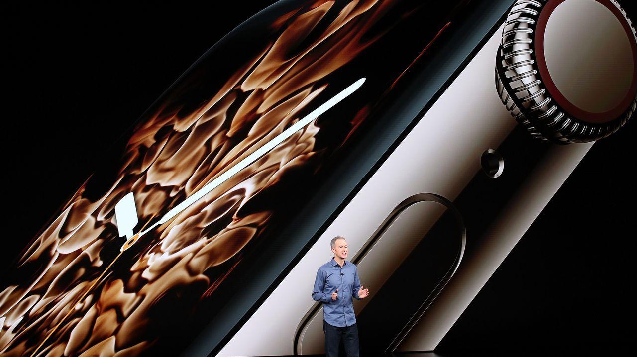 Tim Cook, durante la presentación del nuevo iPhone