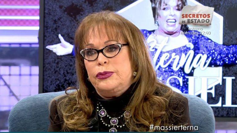 Massiel en el programa «Sálvame» de Telecinco