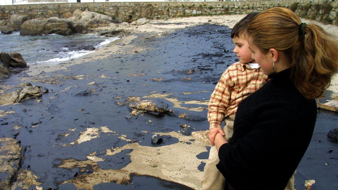 Playa de O Coído, en Muxía