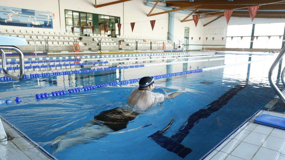 La piscina climatizada municipal, en una imagen de archivo