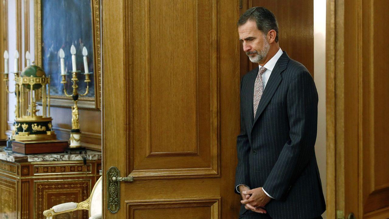 La ronda de consultas con el rey para la investidura ya tiene fecha.Manuel Lence, en el local de Génova en los años 20