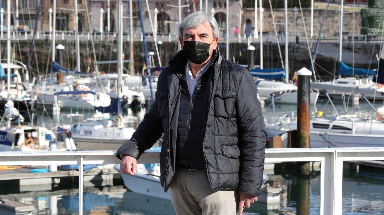 Mariano Marín, expresidente de la Junta Local del PP de Gijón
