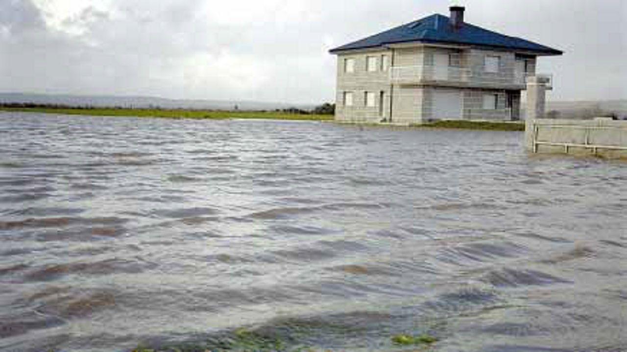 Imagen de los efectos del temporal en la costa de Malaga