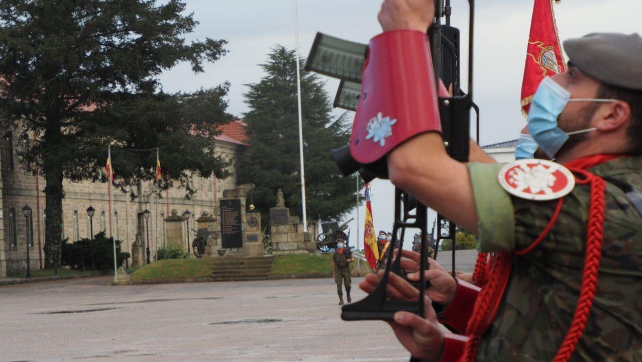 La Brilat de Pontevedra conmemoró a su patrona, la Inmaculada Concepción, con un sencillo acto