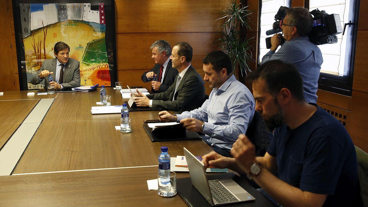 Reunión de concertación entre Gobierno regional, patronal y sindicatos