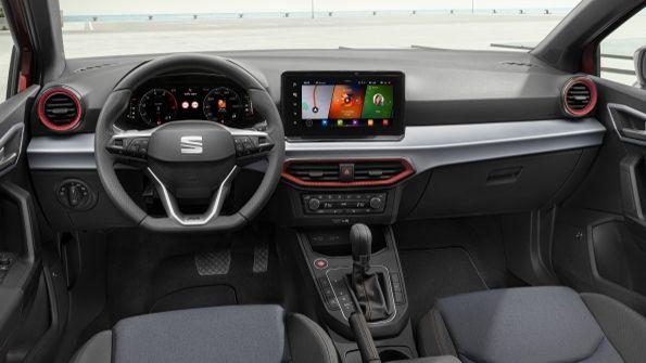Vista interior del nuevo modelo de Seat Ibiza