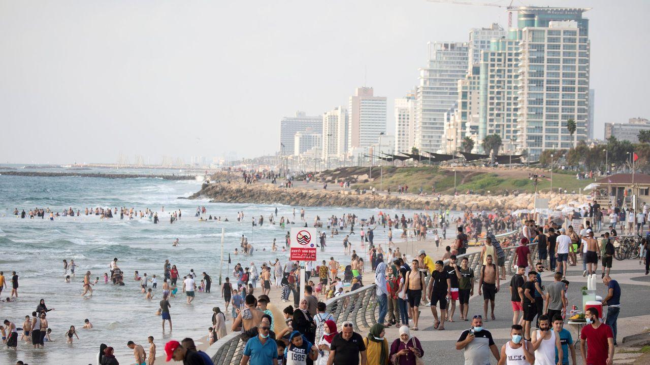 Las manifestaciones tuvieron lugar en distintas ciudades de Israel, como la capital, Tel Aviv