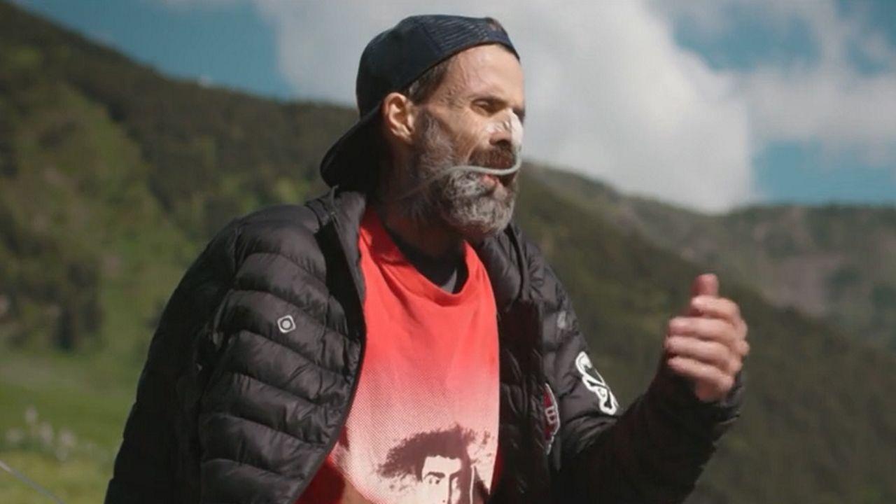 El cantante y compositor Carlos Rubiera