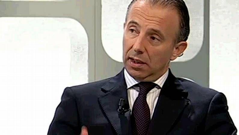 Carlos Delgado, durante el programa de televisión