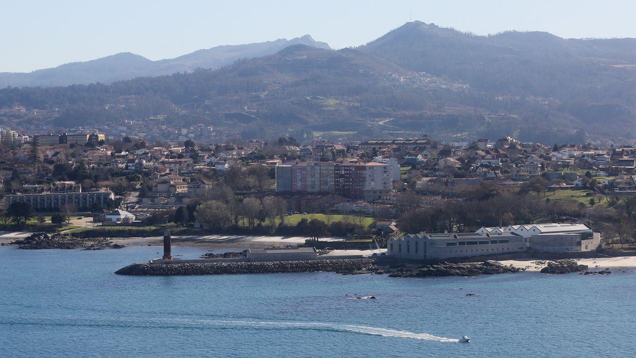 Vista aérea del Museo do Mar de Galicia, en Vigo, en una imagen de archivo