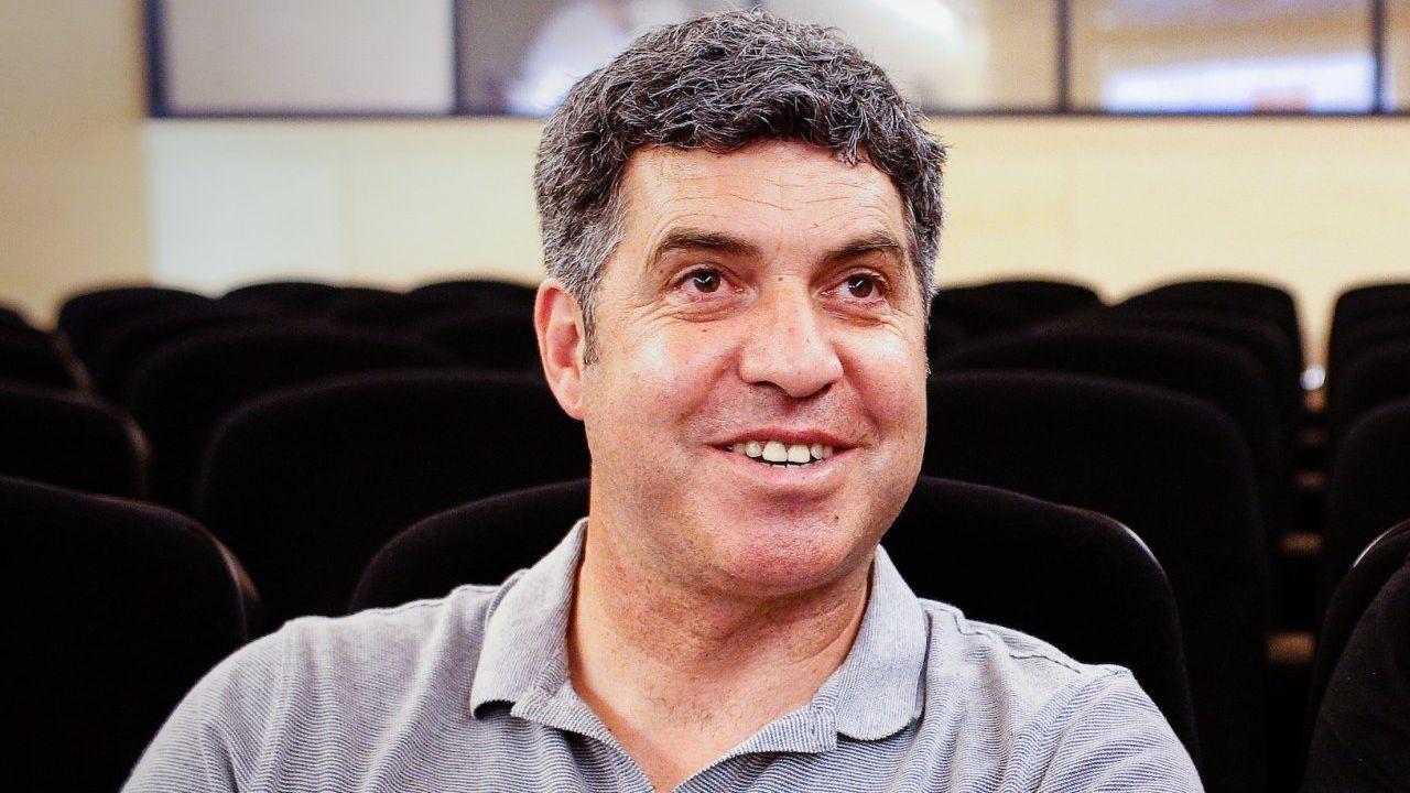 José Luis Balbin, en el mítico programa La Clave