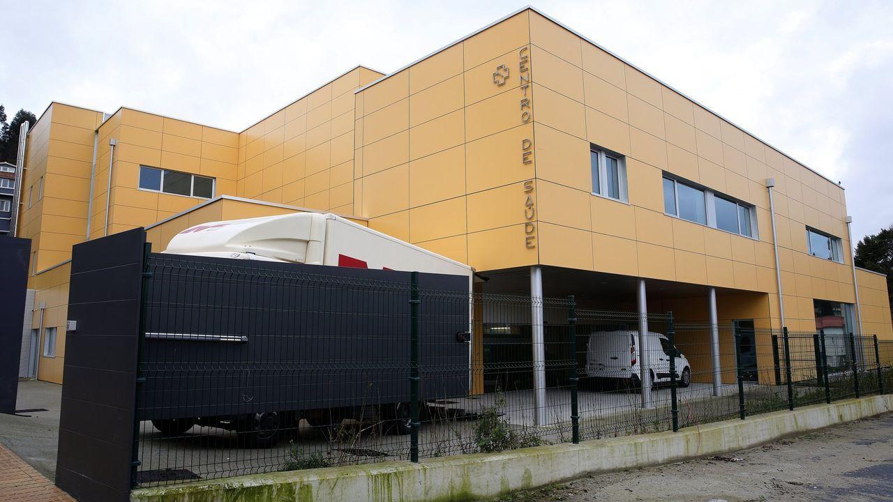 Centro de salud O Portádego en Culleredo