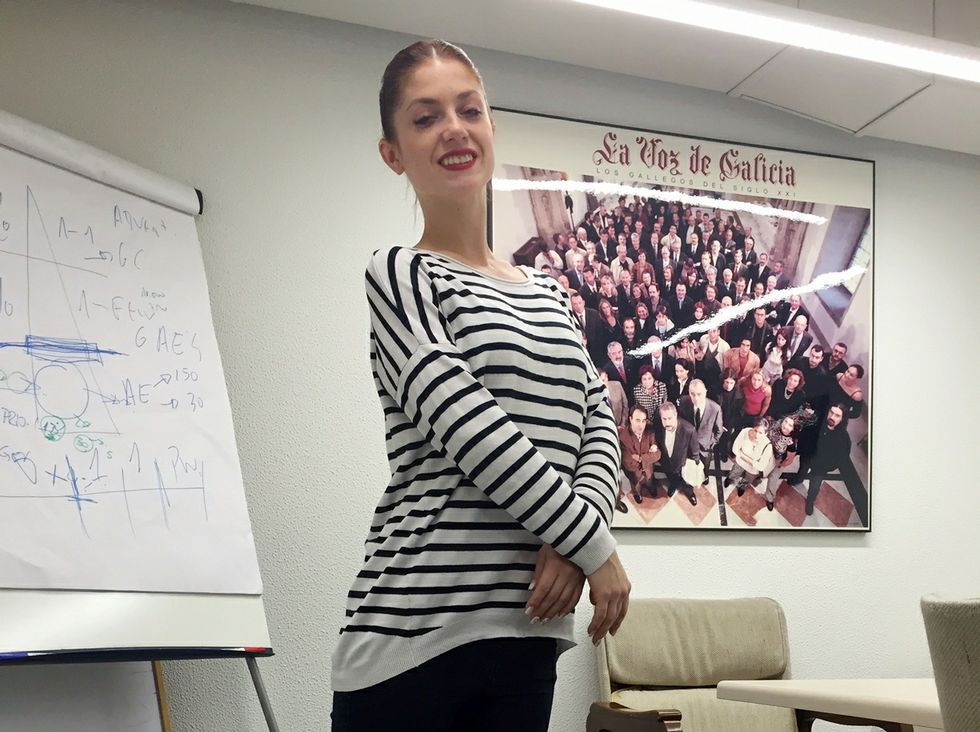 Anastasia Natushin, bailarina del Grand Ballet Ruso.
