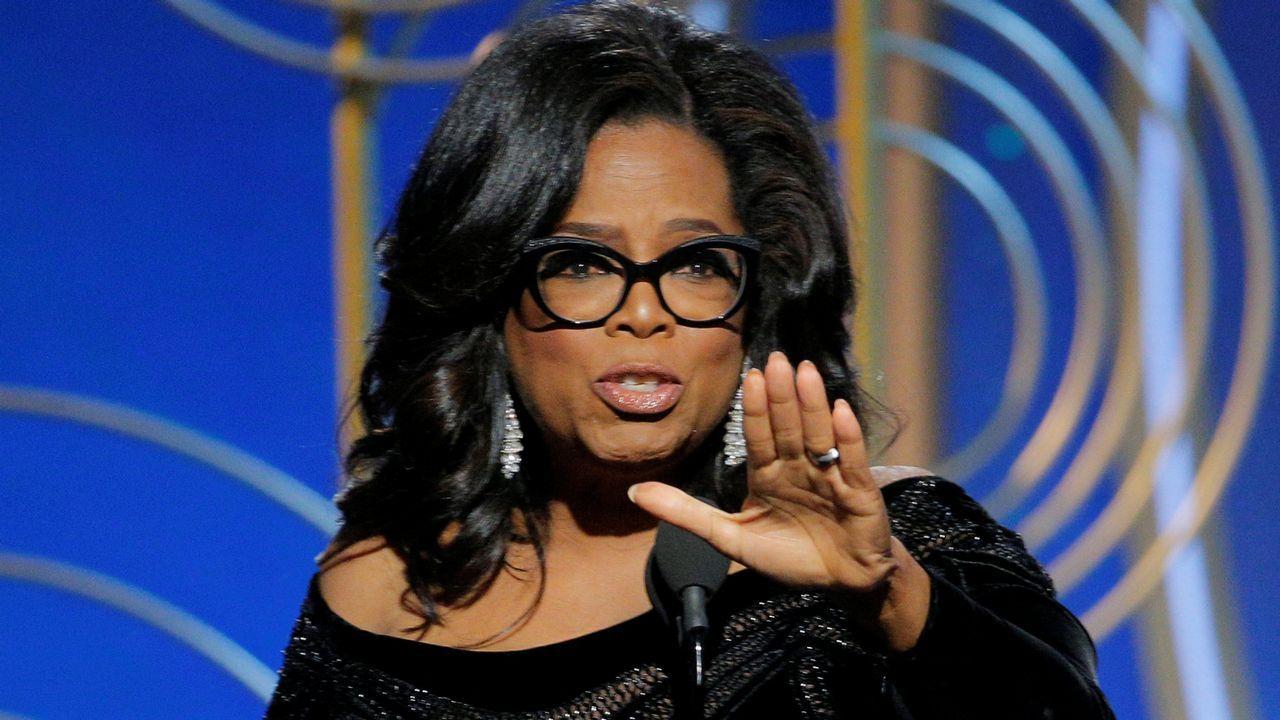 «Su tiempo se ha terminado», el contundente discurso de Oprah Winfrey en los Globos de Oro.Jçohann Jóhannson