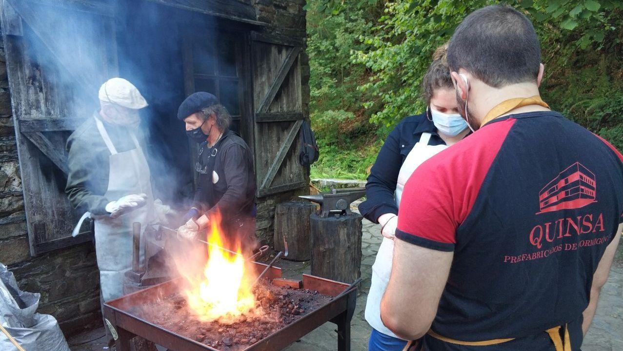 El encuentro de ferreiros, una de las actividades tradicionales en la zona de los Oscos