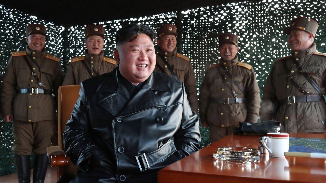 El mundo, entre la desinfección yla nueva cotidianidad.Kim Jong-un