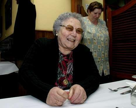 Virtudes Vázquez en el año 2007, al ganar el «Toda unha vida».