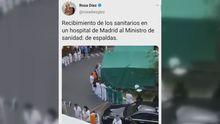 Captura del tuit difundiendo un bulo de Rosa Díez este domingo. Finalmente, lo ha borrado