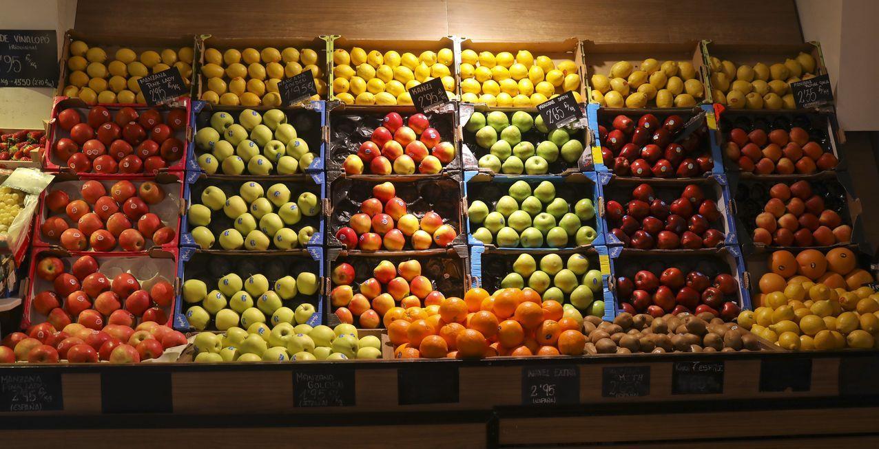 Frutas H. Barreiro en la calle Montero Ríos 46